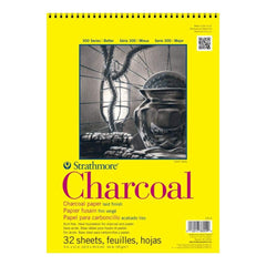 Strathmore Charcoal Spiral Paper Pad 9inch X12inch 32 Sheets