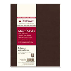 Strathmore Mixed Media Softcover Journal 7.75 Inch X9.75 Inch  32 Sheets