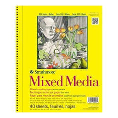 Strathmore Mixed Media Vellum Paper Pad 9X12 90Lb 40 Sheets