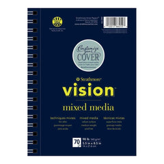 Strathmore Vision Mixed Media Pad 5.5 inch X8.5 inch