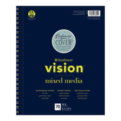 Strathmore Vision Mixed Media Pad 9 inch X12 inch
