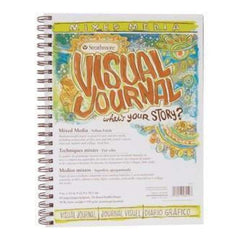Strathmore Visual Journal Mixed Media Vellum 9Inch X12inch  90Lb 34 Sheets