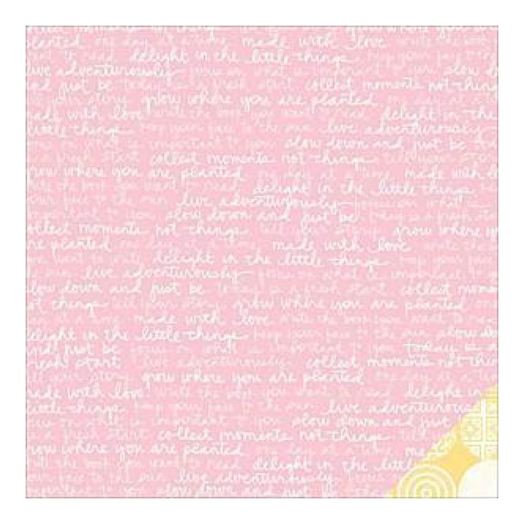 Studio Calico - South Of Market Double-Sided Cardstock 12X12 Made With Love Paper