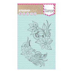 Studio Light Basic A6 Stamps - Flowers No.261