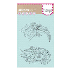 Studio Light Basic A6 Stamps - Flowers No.260