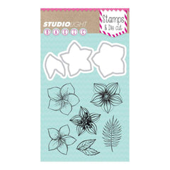Studio Light Basic Stamp & Die Set - Flowers