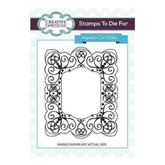 Sue Wilson Stamps To Die For - Royal Palace Pre Cut Stamp