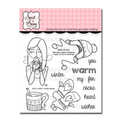 Sweet n Sassy Clear Stamps 4 inch X4 inch Winnies Warm Wishes