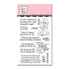 Sweet n Sassy Clear Stamps 4 inch X6 inch Sweet Sarah