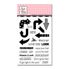 Sweet n Sassy Clear Stamps 4 inch X6 inch Whats Up