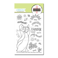 Sweet n Sassy Creative Worship Clear Stamps 4 inch X6 inch My Creator