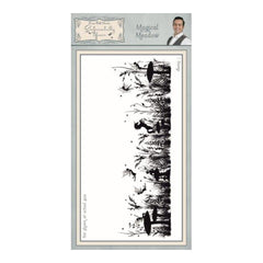 Creative Expressions - Magical Meadow Pre Cut Rubber Stamp
