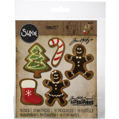 Sizzix Thinlits Dies By Tim Holtz 18/Pkg - Fresh Baked #2