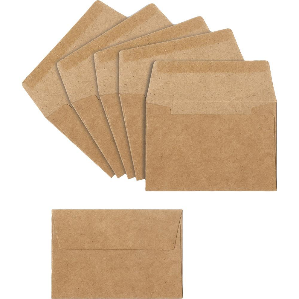 Sizzix Mini Envelopes 5/Pkg - Kraft