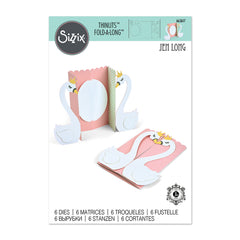 Sizzix - Thinlits Die - Swan Fold-a-Long