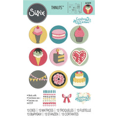 Sizzix - Thinlits Die - Mini Sweet Treats
