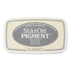 StazOn Pigment Ink Pad - Koala Gray