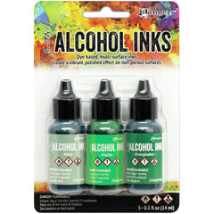 Tim Holtz Alcohol Ink .5oz - Mint/Green Spectrum