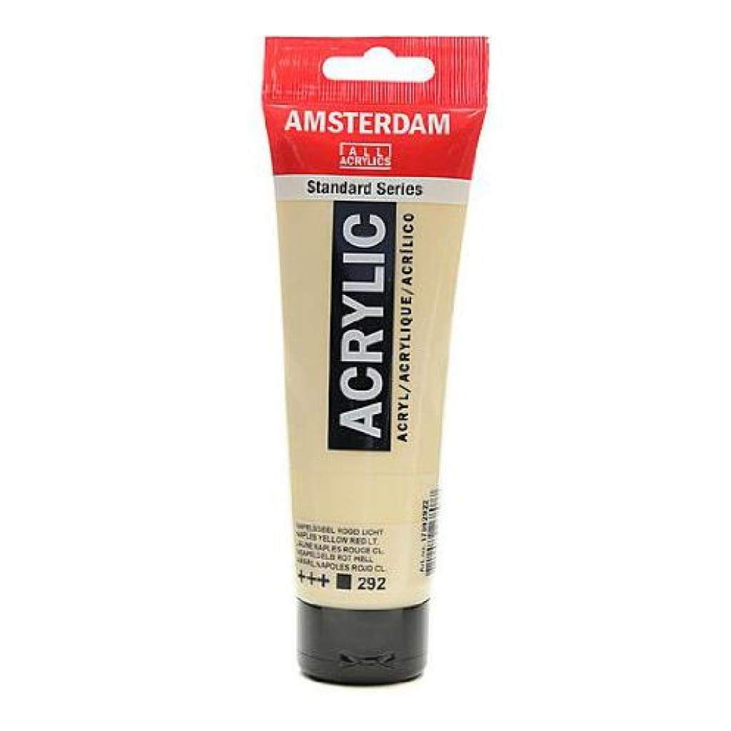 Talens - Amsterdam Standard Acrylic Paint 120ml - Naples Yellow Red Light 292