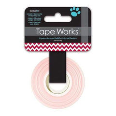 Tape Works Tape .625 Inch X50' - Chevron Deep Red