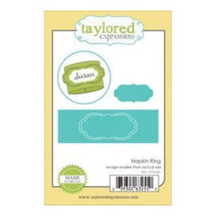 Taylored Expressions Die Napkin Ring