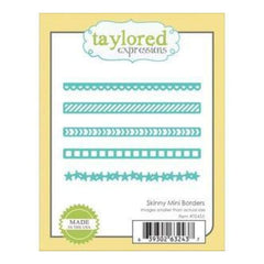 Taylored Expressions Die Skinny Mini Borders