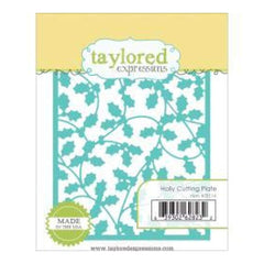Taylored Expressions Dies Holly Cutting Plate