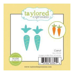 Taylored Expressions Little Bits Dies Carrot