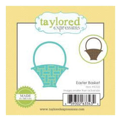 Taylored Expressions Little Bits Dies Easter Basket