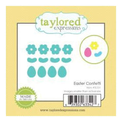 Taylored Expressions Little Bits Dies Easter Confetti