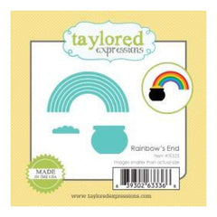 Taylored Expressions Little Bits Dies Rainbow's End