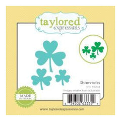 Taylored Expressions Little Bits Dies Shamrocks