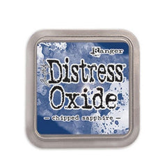 Tim Holtz Distress Oxides Ink Pad Chipped Sapphire