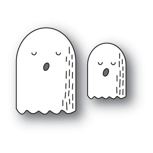 Poppystamps - Whittle Ghosts craft die