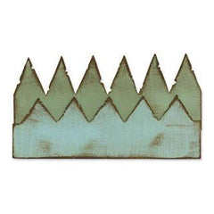 Tim Holtz Alterations Sizzix On The Edge Die - Pennants