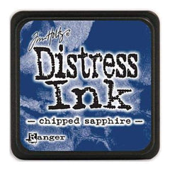Tim Holtz Distress Mini Ink Pads - Chipped Sapphire