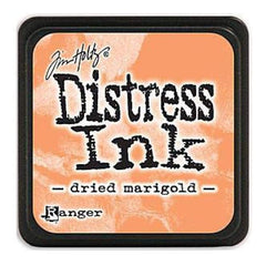 Tim Holtz Distress Mini Ink Pads - Dried Marigold