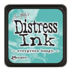 Tim Holtz Distress Mini Ink Pads - Evergreen Bough