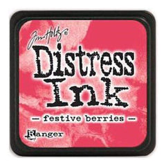 Tim Holtz Distress Mini Ink Pads - Festive Berries
