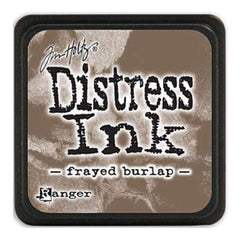 Tim Holtz Distress Mini Ink Pads - Frayed Burlap