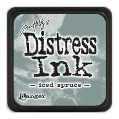 Tim Holtz Distress Mini Ink Pads - Iced Spruce