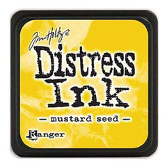 Tim Holtz Distress Mini Ink Pads - Mustard Seed