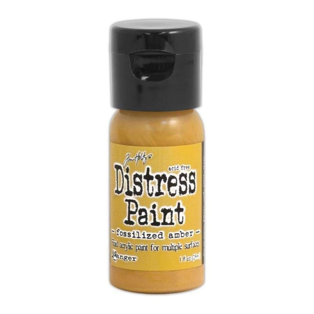 Tim Holtz Distress Paint - Flip Top - Fossilized Amber