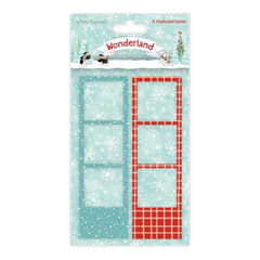 Trimcraft - Helz Cuppleditch Wonderland Photo Frames 8 pack