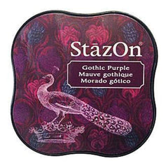 Tsukineko - Stazon Midi Ink Pad - Gothic Purple