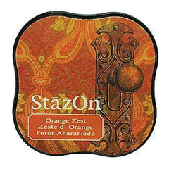 Tsukineko - Stazon Midi Ink Pad - Orange Zest