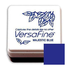 Tsukineko  - Versafine Pigment Small Ink Pad - Majestic Blue