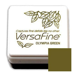 Tsukineko  - Versafine Pigment Small Ink Pad - Olympia Green