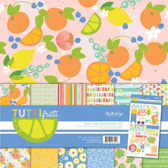 My Minds Eye Paper & Accessories Kit 12inch X12inch - Tutti Frutti