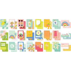 My Minds Eye - Tutti Frutti Double-Sided Journal Cards 24 pack 3inch X4inch